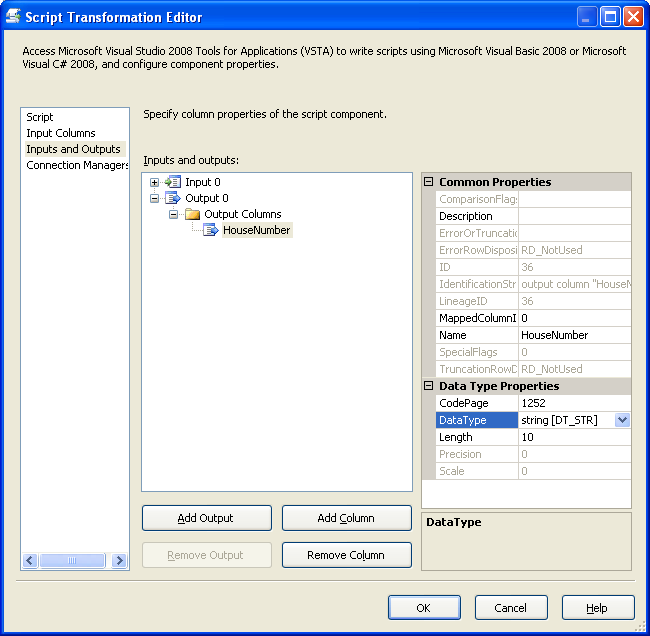 Pattern matching in SSIS using Regular Expressions and the