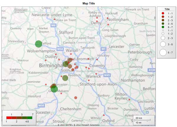 Map Postcodes in SSRS Reporting Services Purple Frog Systems