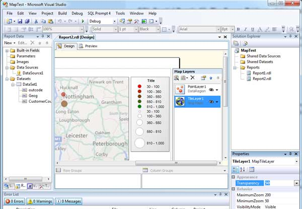 Map Postcodes in SSRS Reporting Services – Purple Frog Systems
