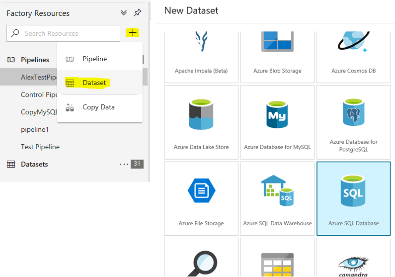 Lookups and If Conditions in Azure Data Factory v2 (ADFv2