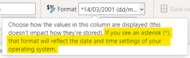 Explanation of dynamic date formats