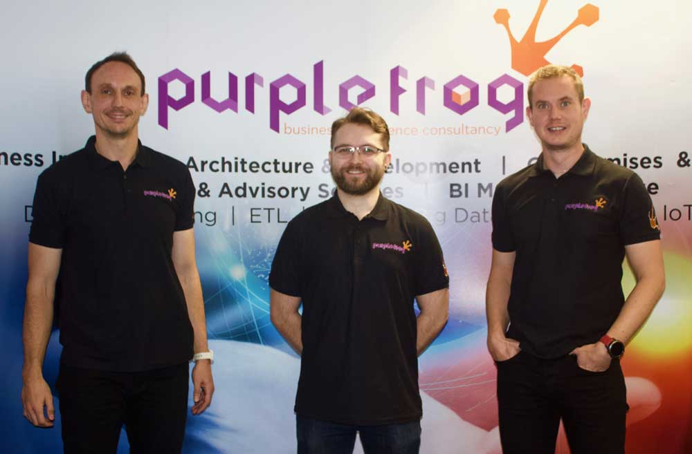 Purple Frog team