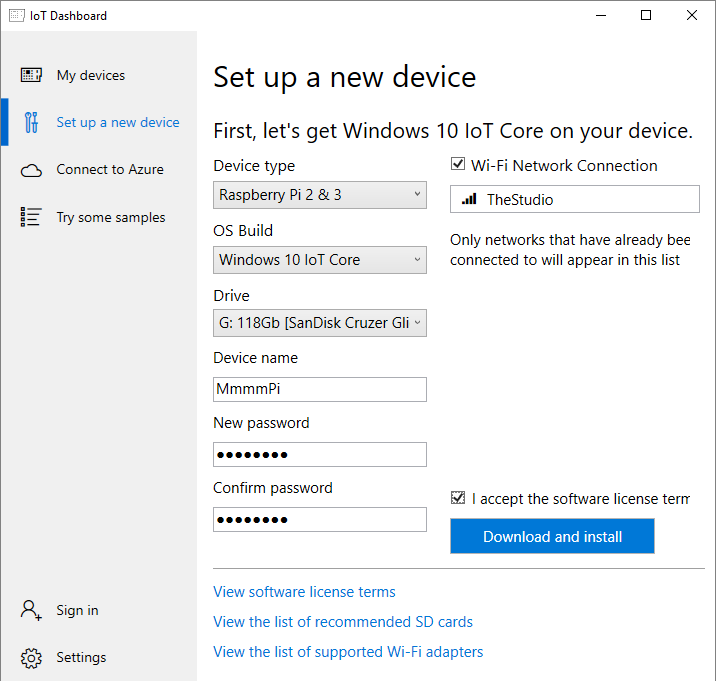 Windows 10 IoT Core – Paul's Frog Blog – Technical Blog and