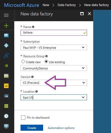 What's New in Azure Data Factory Version 2 (ADFv2) – Paul's Frog